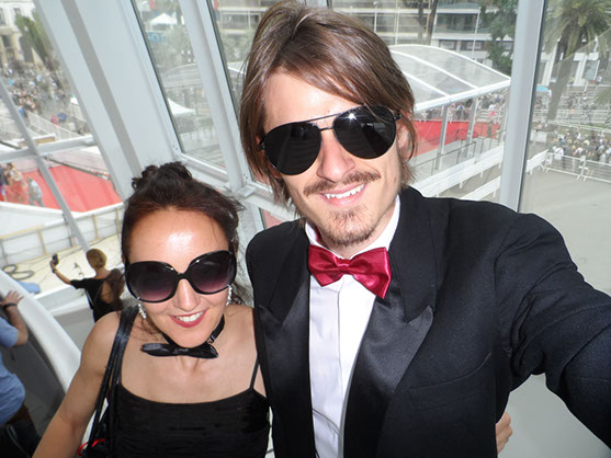 Bo & Gustavo Catilina in Cannes